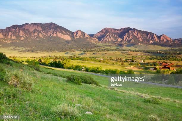 Flatirons e Ranchland Boulder, Colorado