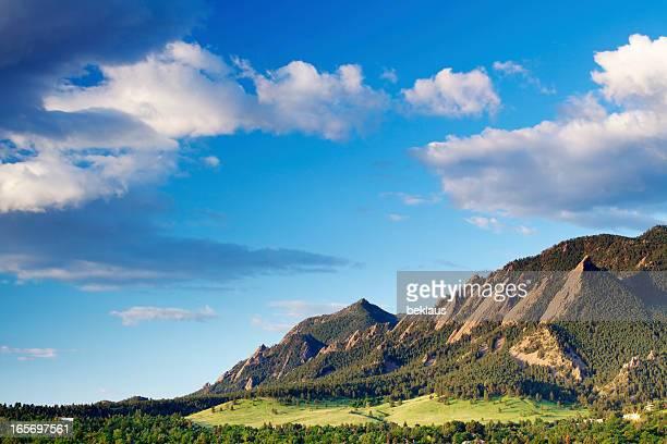 Boulder no Colorado Flatirons