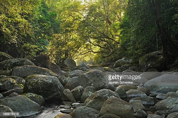 Boulders in Mossman Gorge