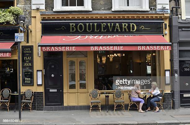 Boulevard Brasserie on Wellington Street