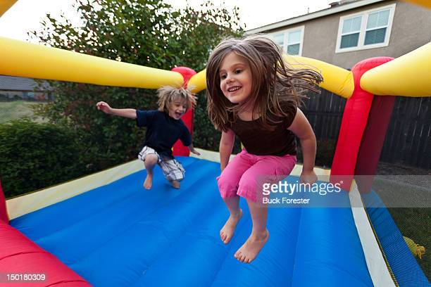 Bounce house fun