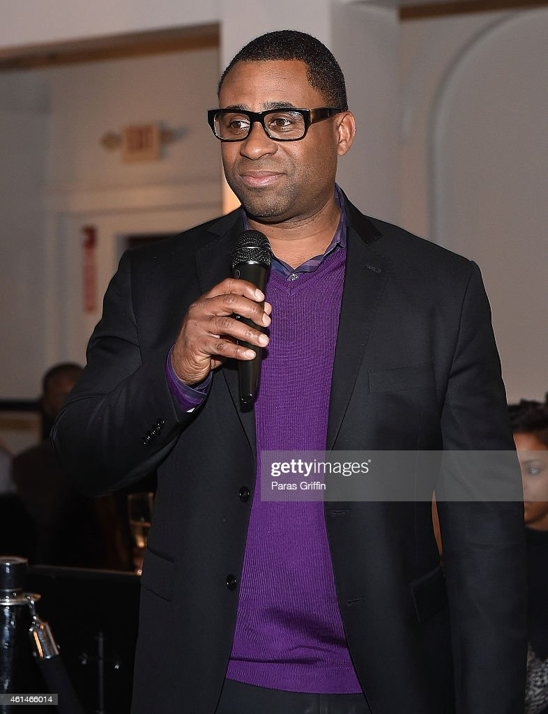 off the chain presents rodney perry private screening photos and bounce tv president ryan glover onstage at bounce tv rodney perry s one hour off the