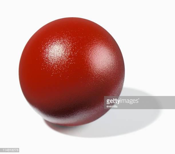 Hüpfen ball-Schnitt auf Weiß