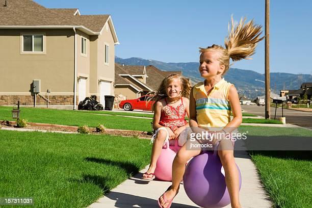 Bouncy Summertime Fun