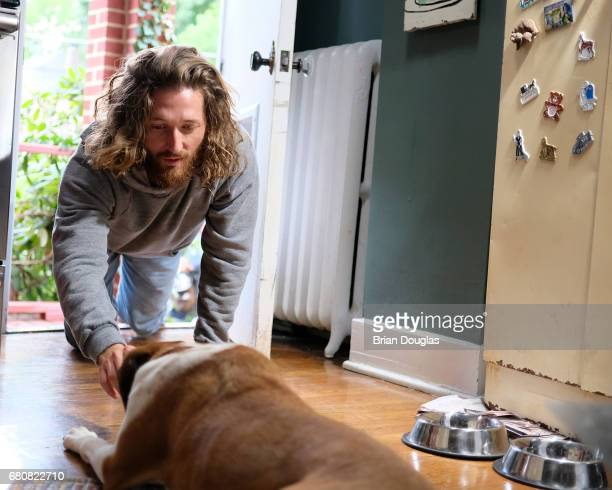 DOG 'Boundaries' When Nan installs an automatic dog door so she can take away Jason's key but still keep him as Martin's dog walker Martin is...