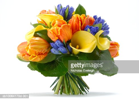 Bouquet of arranged flowers : Bildbanksbilder
