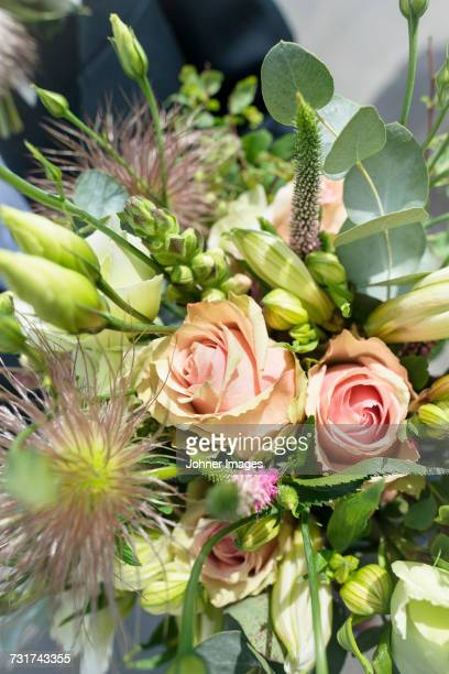 Bouquet of flowers, close-up