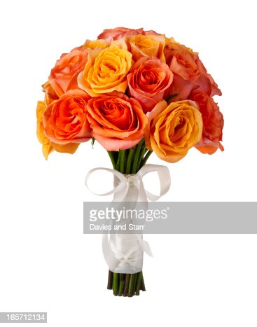 Bouquet of Pink and Yelow Roses