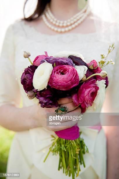 Bouquet of ranunculus flowers