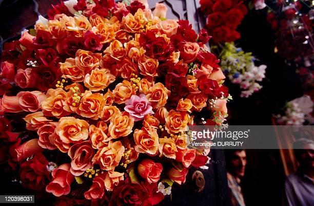 Bouquet of rose in Algiers Algeria