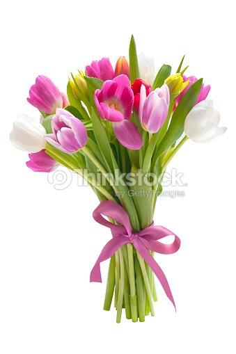 bouquet de tulipes de fleurs de printemps photo thinkstock. Black Bedroom Furniture Sets. Home Design Ideas