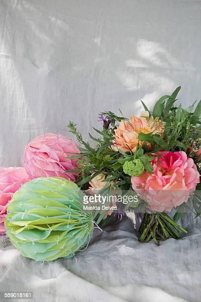 Bouquet of wedding flowers