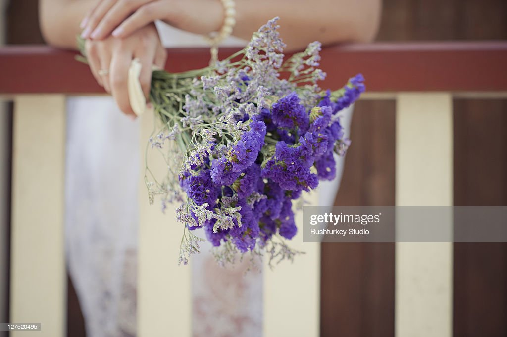 Bouquet of wild flowers : Stock Photo