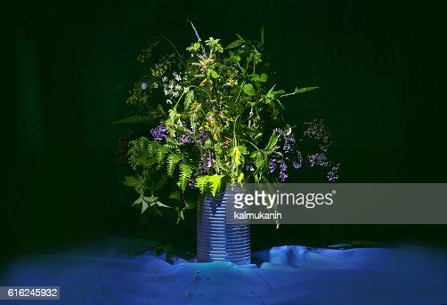 bouquet di fiori selvatici : Foto stock