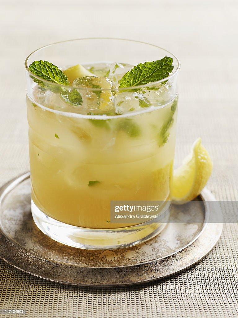Bourbon Mojito