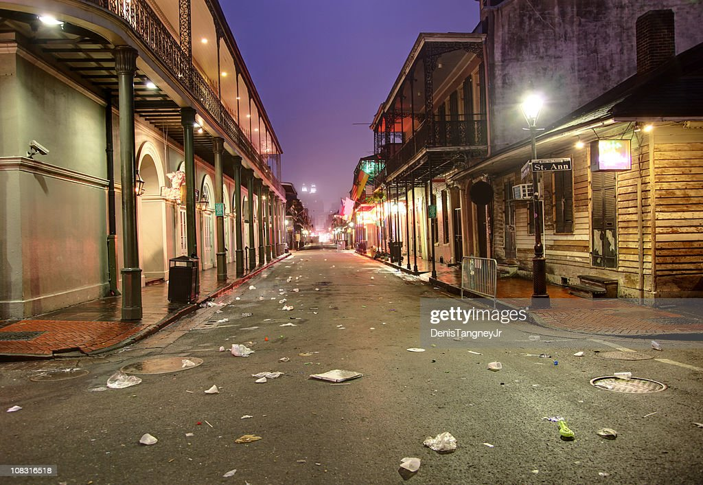 Bourbon Street : Stock Photo