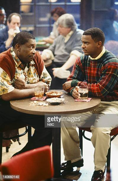 AIR 'Bourgie Sings the Blues' Episode 4 Pictured BB King as Pappy Alfonso Ribeiro as Carlton Bank Photo by Kassa Zakadi/NBCU Photo Bank
