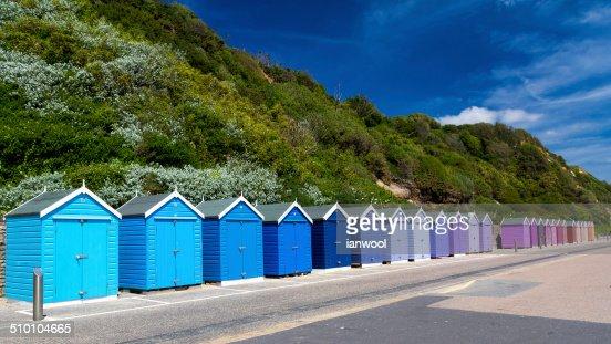 Bournemouth Beach Huts : Stock Photo