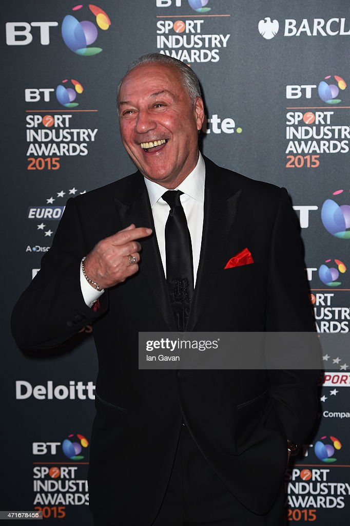Bournemouth chairman Jeff Mostyn poses on the red carpet at the BT Sport Industry Awards 2015 at Battersea Evolution on April 30, 2015 in London, England. The BT Sport Industry Awards is the most prestigious commercial sports awards ceremony in Europe, where over 1750 of the industry's key decision-makers mix with high profile sporting celebrities for the most important networking occasion in the sport business calendar.