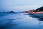 Bournemouth Pier at Twilight, Dorset