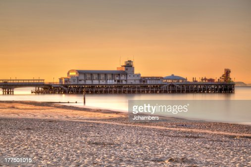 Bournemouth Pier Sunrise : Stock Photo