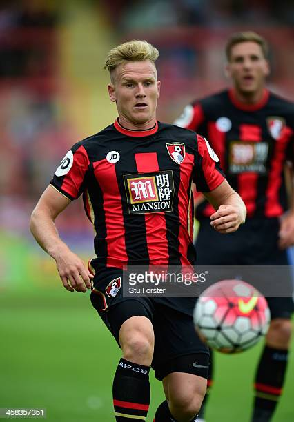 Bournemouth striker Matt Ritchie in action during the Pre season friendly match between Exeter City and AFC Bournemouth at St James Park on July 18...