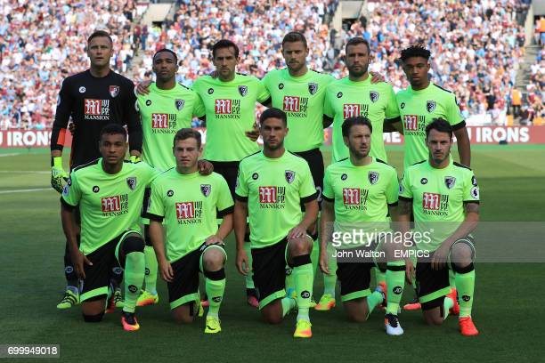 AFC Bournemouth Team Group AFC Bournemouth goalkeeper Artur Boruc Callum Wilson Charlie Daniels Simon Francis Steve Cook and Jordan Ibe Bottom AFC...