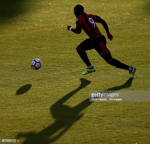 Bournemouth's Benik Afobe during the preseason friendly at the Vitality Stadium Bournemouth