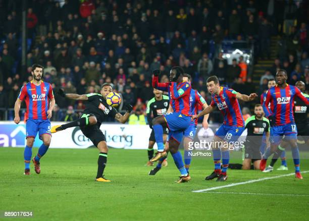 Bournemouth's Callum Wilson during Premier League match between Crystal Palace and AFC Bournemouth at Selhurst Park Stadium London England 09 Dec 2017