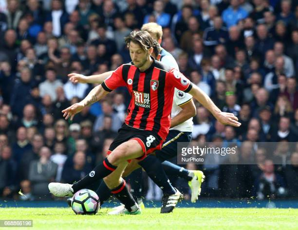 Bournemouth's Harry Arter during EPL Premier League match between Tottenham Hotspur and AFC Bournemouth at White Hart Lane London 15 April 2017