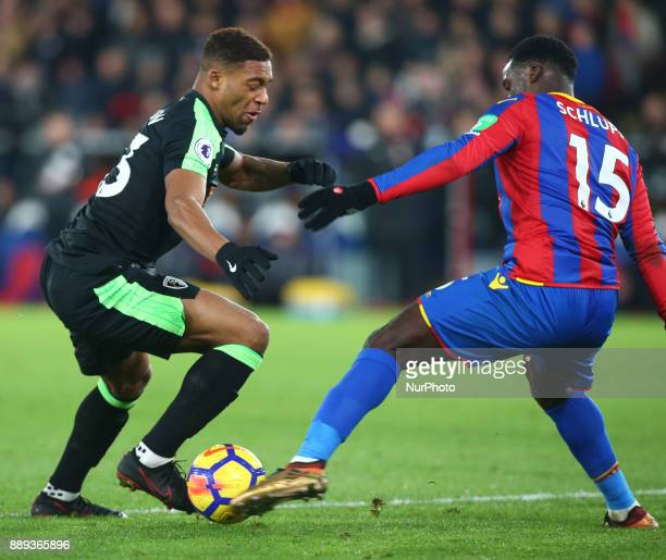Bournemouth's Jordon Ibe during Premier League match between Crystal Palace and AFC Bournemouth at Selhurst Park Stadium London England 09 Dec 2017