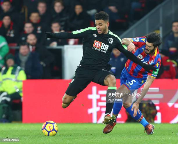 Bournemouth's Joshua King during Premier League match between Crystal Palace and AFC Bournemouth at Selhurst Park Stadium London England 09 Dec 2017