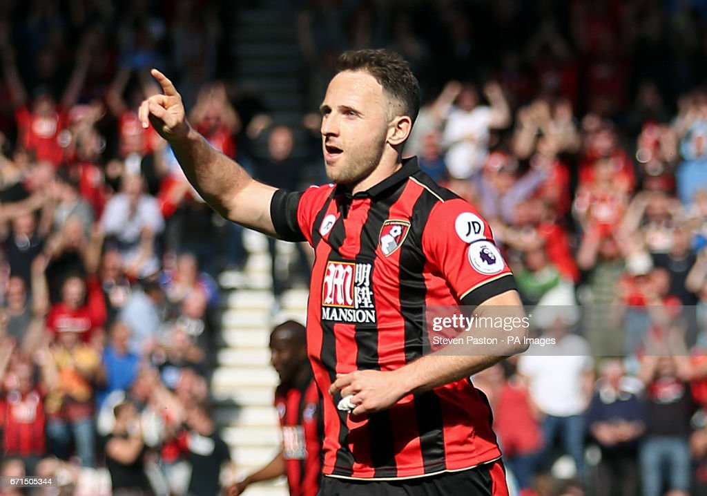 AFC Bournemouth v Middlesbrough - Premier League - Vitality Stadium : News Photo
