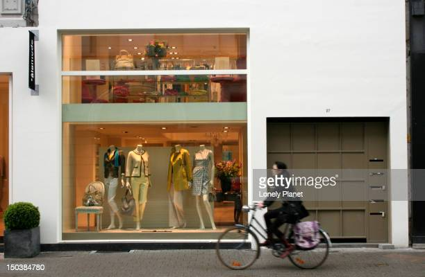 Boutique on Nationalestraat opposite the MoMu (Fashion Museum).