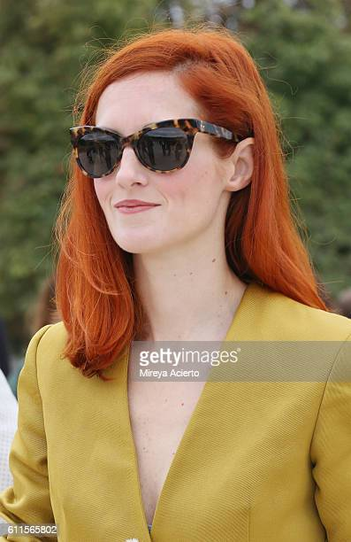 Boutique owner Taylor Tomasi attends the Carven show as part of the Paris Fashion Week Womenswear Spring/Summer 2017 on September 29 2016 in Paris...