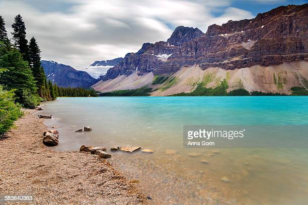 Bow lake long exposure, Icefields Parkway, Canada