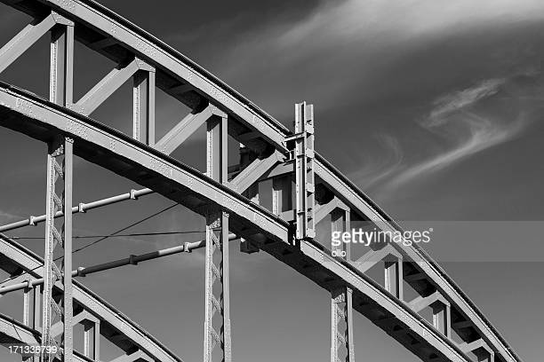 Schleife der Stahl Brücke