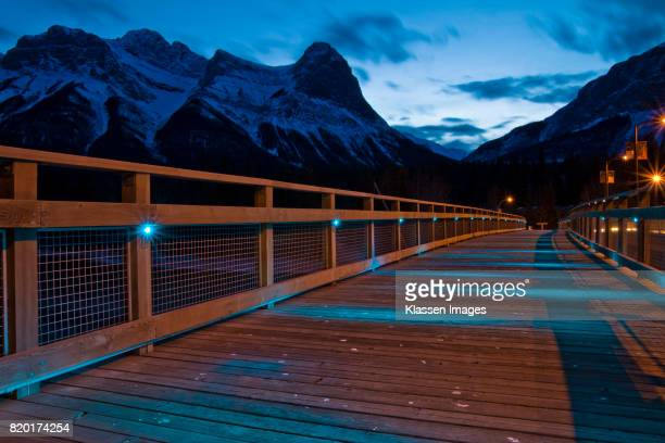 Bow River Bridge in Canmore