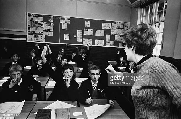 Bow School in London UK 17th October 1967