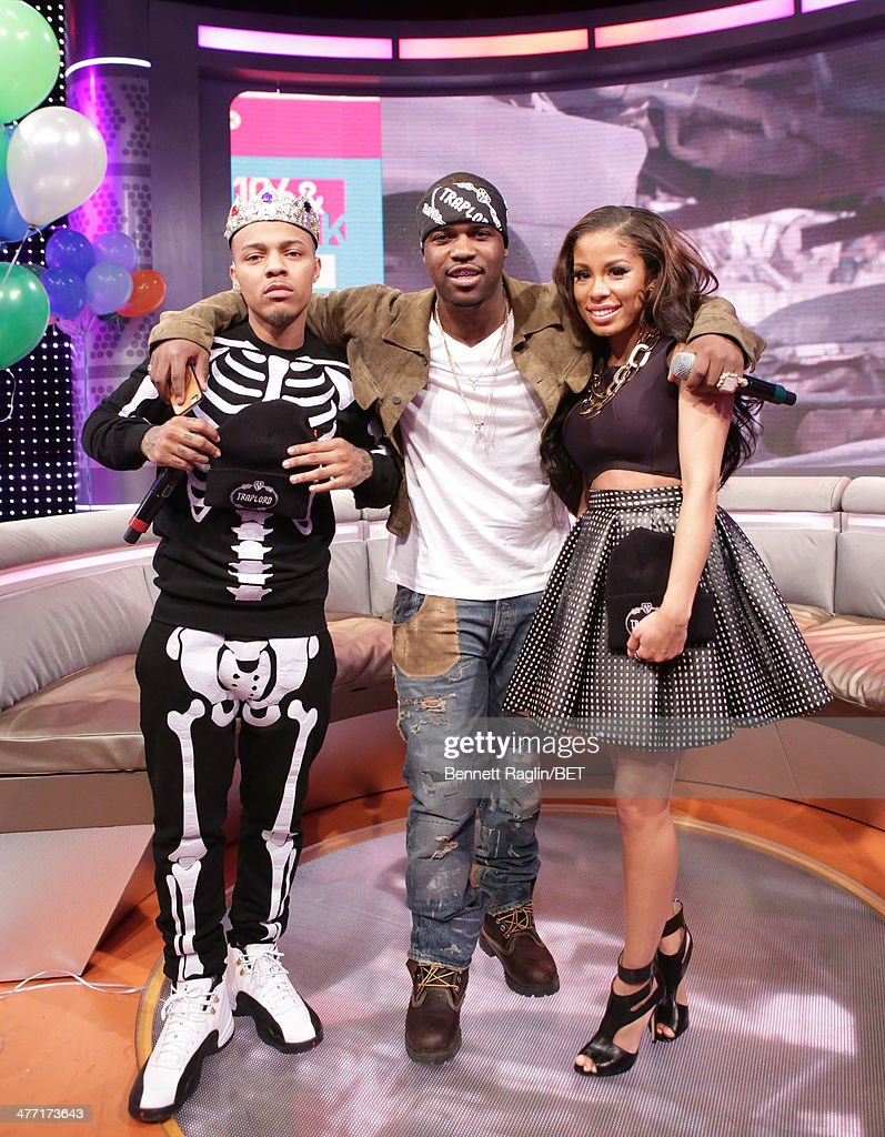 Bow Wow A$AP Ferg and Keshia Chante attend 106 Park at BET studio on March 6 2014 in New York City
