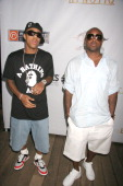 Bow Wow and Jermaine Dupri during Akademiks Disturbing Tha Peace Presents A Private Reception Hosted By Ludacris DTP Recording To Celebrate 2007 BET...