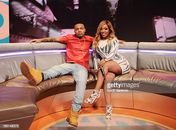 Bow Wow and K Michelle at BET's '106 Park' at BET Studios on May 20 2013 in New York City
