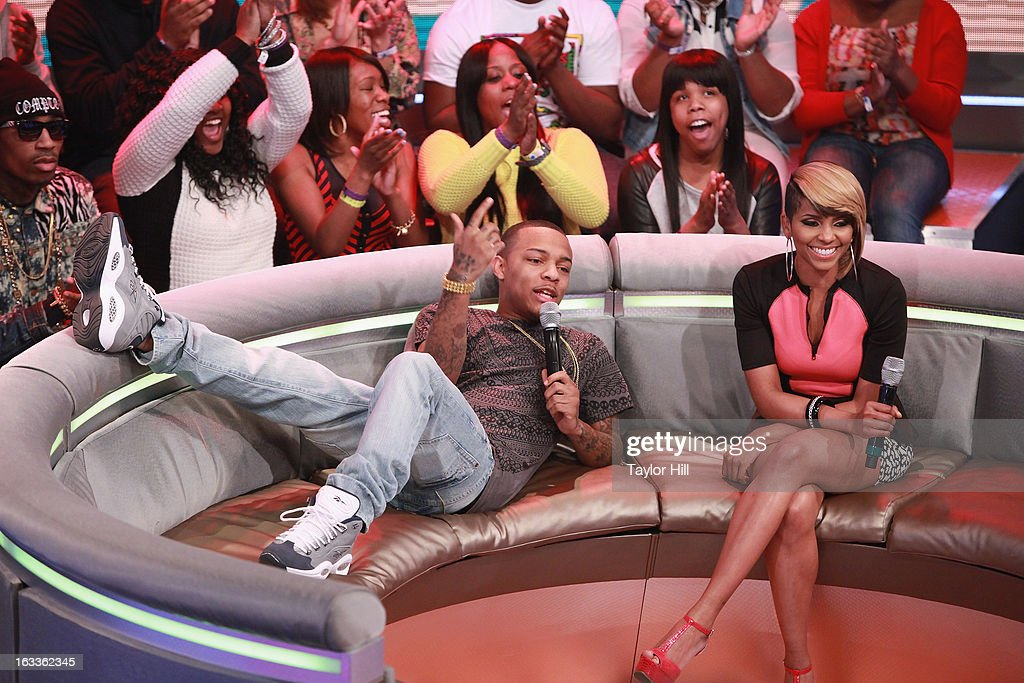 Bow Wow and Miss Mykie host BET's '106 Park' at BET Studios on March 7 2013 in New York City