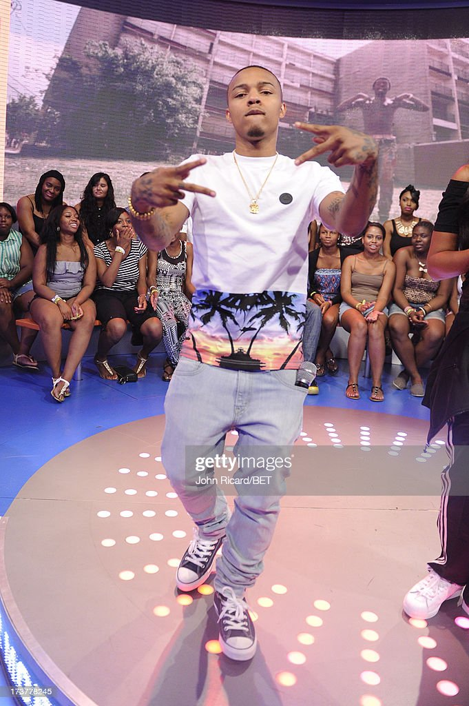 Bow Wow at BET's 106 & Park at BET Studios on July 17, 2013 in New York City.