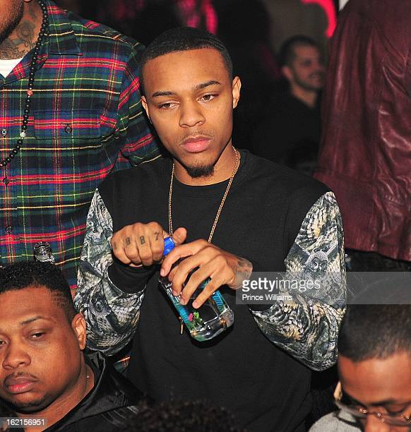 Bow Wow attends a party hosted by Bow Wow and Teyana Taylor at Compound on February 9 2013 in Atlanta Georgia