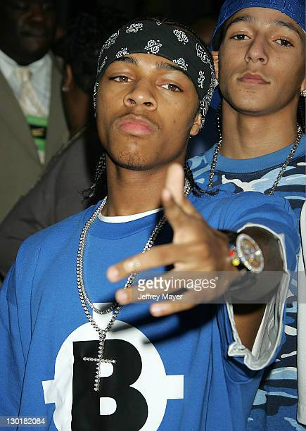 Bow Wow during 33rd Annual American Music Awards Arrivals at Shrine Auditorium in Los Angeles California United States