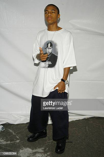 Bow Wow during Backstage with Bow Wow at HOT 97's Concert August 21 2003 at Hudson River Park in New York City New York United States