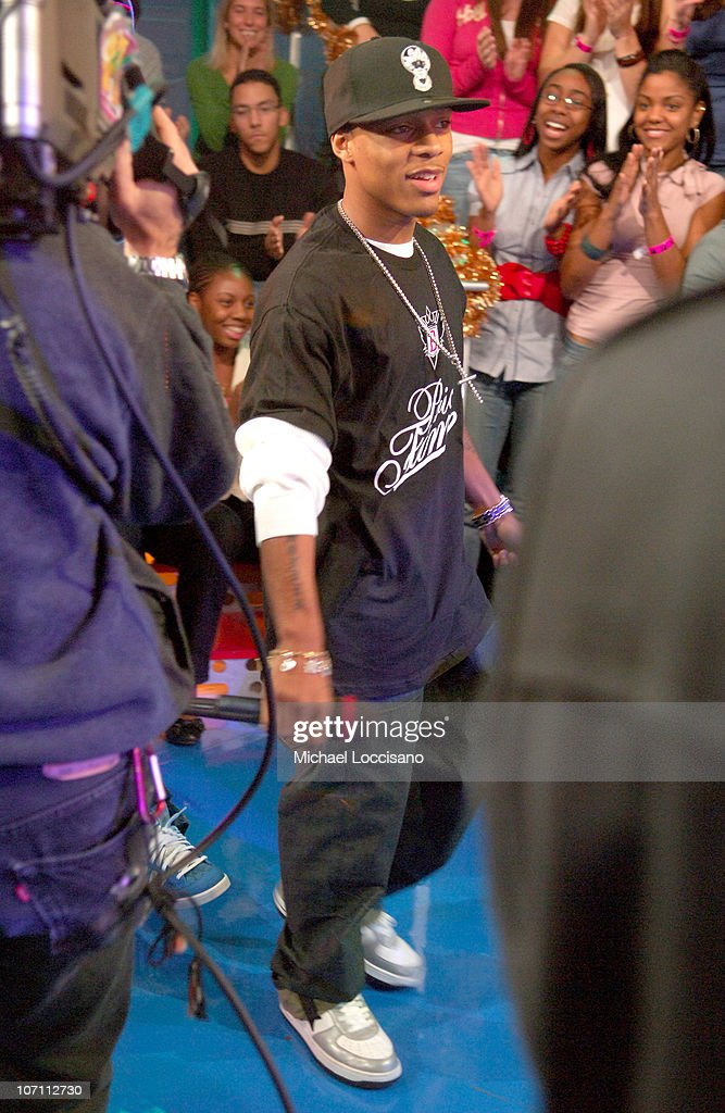 Bow Wow during Beyonce, Chris Brown, Bow Wow and Fall Out Boy Visit MTV's 'TRL' - December 19, 2006 at MTV Studios - Times Square in New York, New York, United States.