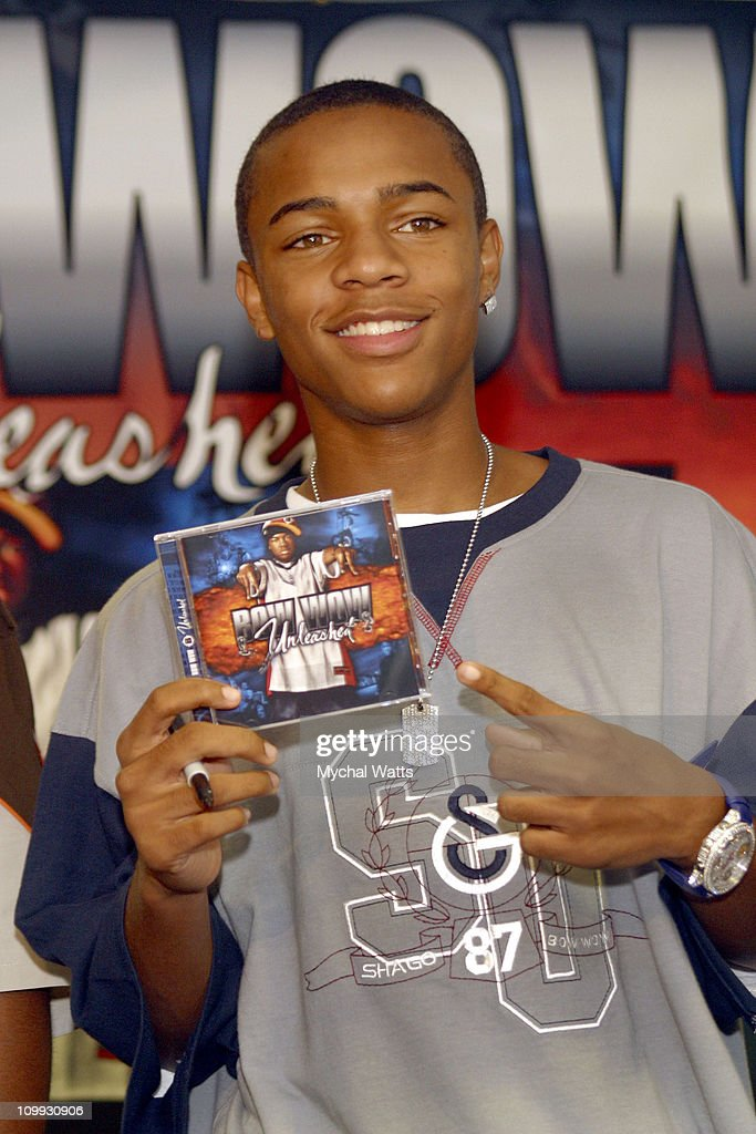 bow wow in store cd signing for his latest cd quotunleashed
