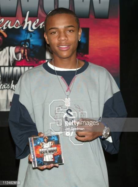 Bow Wow during Bow Wow InStore Celebrating His New Album 'Unleashed' at Best Buy in New York City New York United States